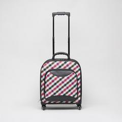 SOMPRASONG Gingham Pattern Luggage (Pah-Khao-Mah Thai traditional lioncloth pattern) Size 16""