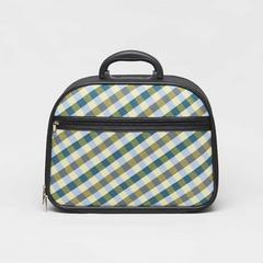 SOMPRASONG Gingham Pattern Luggage (Pah-Khao-Mah Thai traditional lioncloth pattern) Size 12""