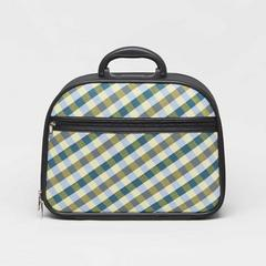SOMPRASONG Gingham Pattern Luggage (Pah-Khao-Mah Thai traditional lioncloth pattern) Size 13""