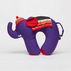 KING POWER MOMENT大象颈枕与紫色山部落饰品