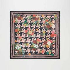 Voyage of Style 植物与犬牙织纹围巾