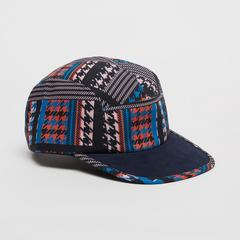 Voyage of Style Houndstooth Print Cap