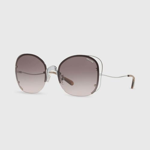 COACH butterfly shape Women Sunglasses 0Hc7081 90043B (58mm.)