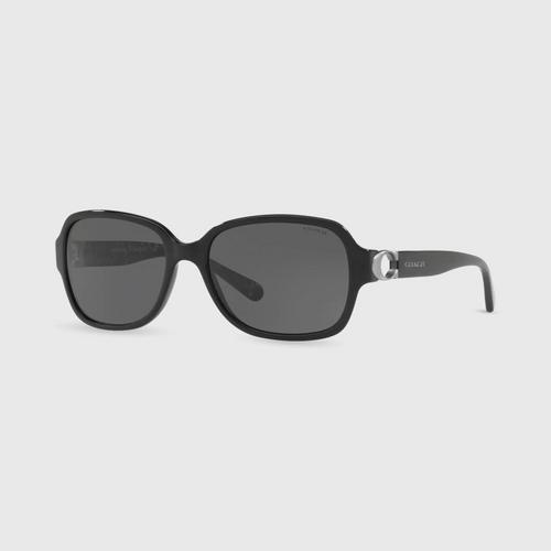 COACH Black Acetate Women Sunglasses 0Hc8241F 551087 (57mm.),,