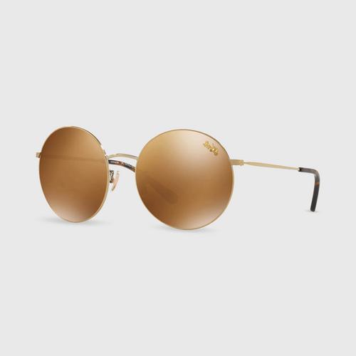 COACH Round Metal Women Sunglasses 0Hc7078 92936H (56mm.),,