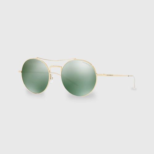 阿玛尼Pale Gold Metal男士太阳眼镜 0EA2061 30136R (52毫米)