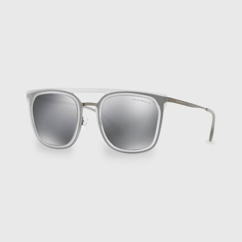 阿玛尼Matte Gunmetal男士太阳眼镜 0EA2062 30106G (54毫米)