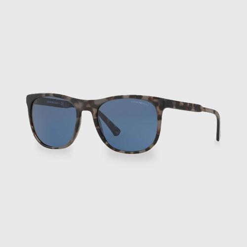 阿玛尼Grey Havana Acetate男士太阳眼镜 0EA4099 567980 (56毫米)