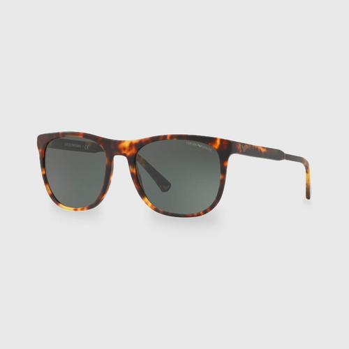 阿玛尼Matte Havana男士太阳眼镜 0EA4099F 567771 (56毫米)