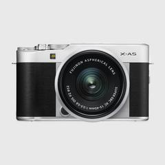 富士(Fuji)X-A5无反数码相机 15-45毫米 银黑色