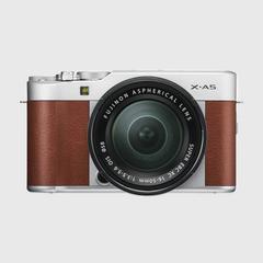 富士(Fuji)X-A5无反数码相机 15-45毫米 星光棕