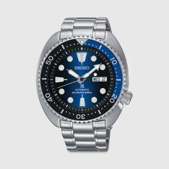 精工(SEIKO) PROSPEX AUTOMATIC DIVER自动机械手表 45 毫米(蓝盘)