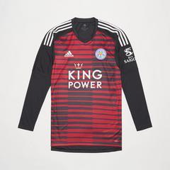 Leicester City Football Club 乐部主场客场球衣2018-2019尺寸L.