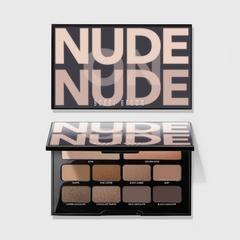 裸色光泽四色眼影盘 - Bronzed Nudes