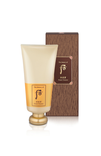THE HISTORY OF WHOO Gongjinhyang Facial Foam Cleanser 180 ml