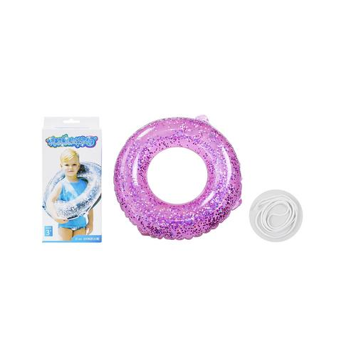 BB TOY :Pink glister rubber rings.