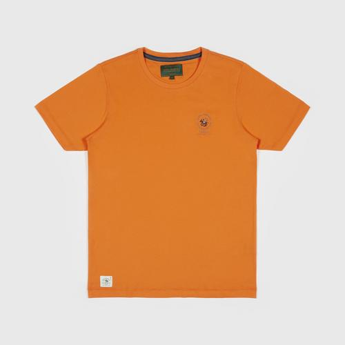 SANTA BARBARA T Shirt - ORANGE - Size  S