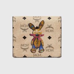 MCM Rabbit ID Wallet in Visetos Mini