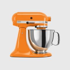 KitchenAid Tilt-Head Artisan Stand Mixer 5 Quart - Tangerine