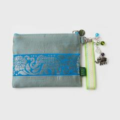 1000Roads Silk Purse With Crystal Tassel