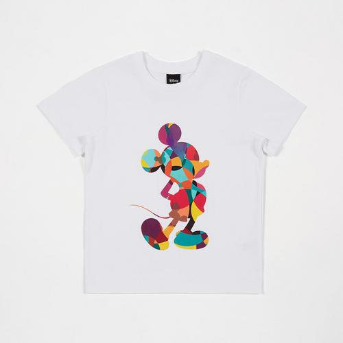 Disney Boy T-Shirt Mickey White-S