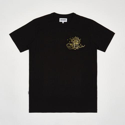 MAHANAKHON 幸运数字日历T恤 - XL码 (黑色)