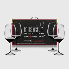 Riedel Value Gift Packs Vinum XL Pay 3 Get 4 Cabernet Sauvignon