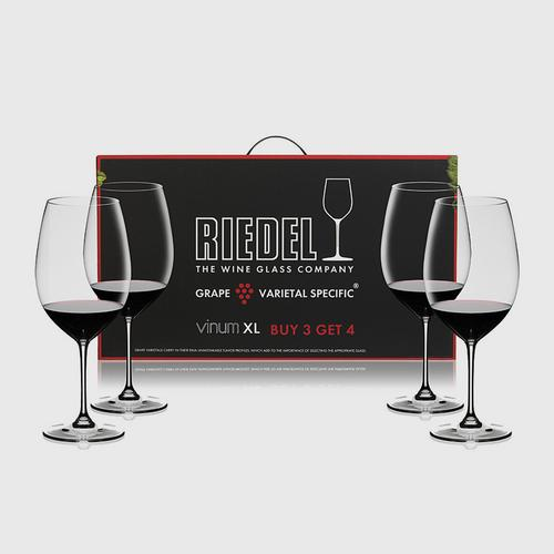 Riedel Value Gift Packs Vinum XL Pay 3 Get 4 Cabernet Sauvignon
