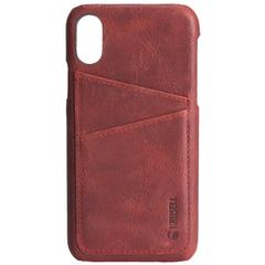 Krusell Sunne 2 Card Cover Apple iPhone X/Xs Vintage Red