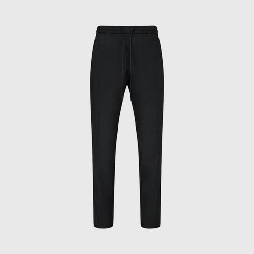 Hugo Boss Slim Fit Drawstring Trousers (Black)