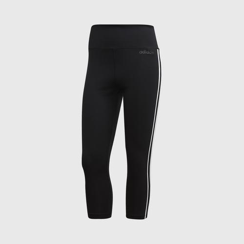 ADIDAS DESIGN 2 MOVE 3-STRIPES 3/4 TIGHTS SIZE S