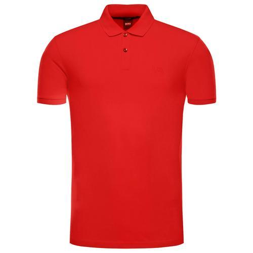 服装HUGO BOSS Pallas Pique Polo (Red) Size S