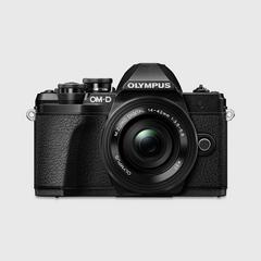 Olympus E-M10 Mark III with lens14-42 mm, wifi, SD16GB and Bag (Black)