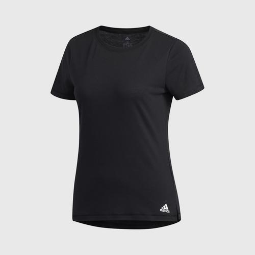 ADIDAS  W PRIME T T-SHIRT (SHORT SLEEVE) Size XS black UK