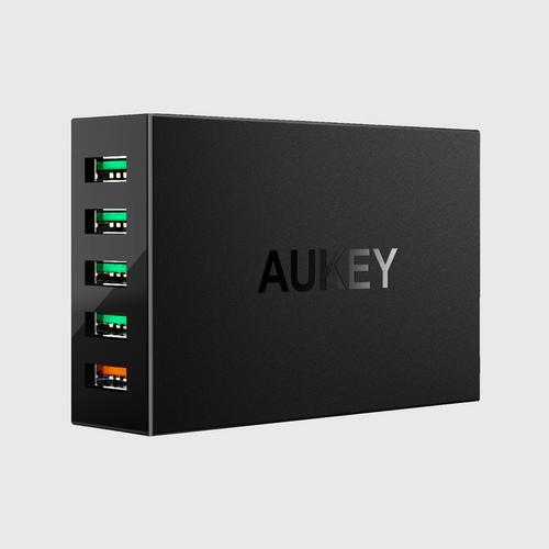 Aukey 5-Port USB Charging Station  with Quick Charge 3.0 PA-T15