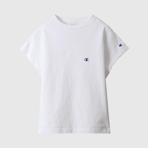 CHAMPION Women'S Sleeveless T-Shirt White Size M
