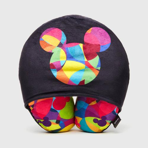 Disney Mickey Mouse Neck pillow with Hoodie Print on Black
