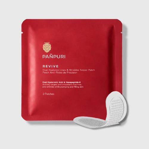PAÑPURI REVIVE DUAL HYALURON LINES & WRINKLES SNIPER PATCH SIZE : 2 PATCHES