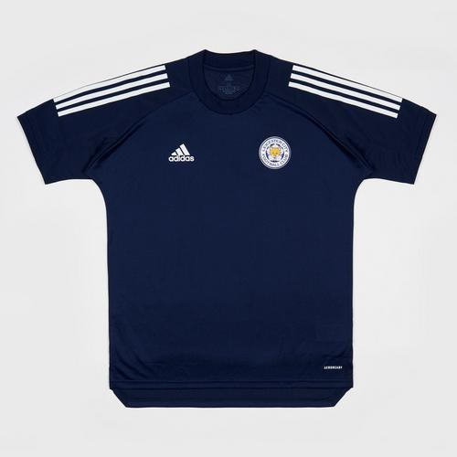 Leicester City Football Club CON20 TR JSY Navy Blue/White Colour Size S
