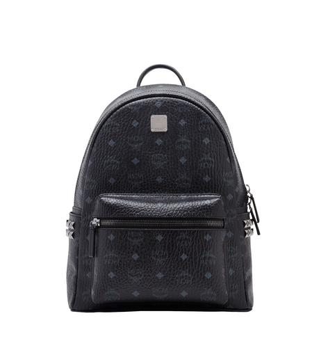 MCM BACKPACK SMALL MEDIUM BLACK - BLACK