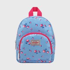 Cath Kidston Kids Mini Rucksack Scattered Rose Fresh Blue