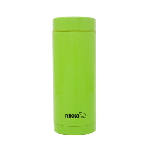 NIKKO Stainless Steel Vacuum Bottle 350 ml. SMS  - Green