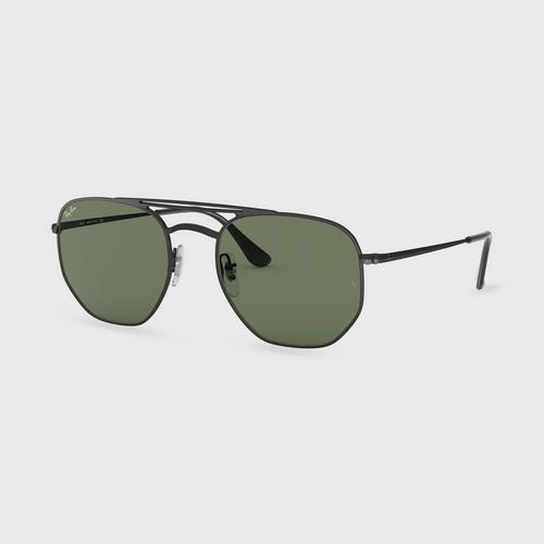 雷朋 RAYBAN Demi Glass Black Hexagonal Sunglass 太阳眼镜
