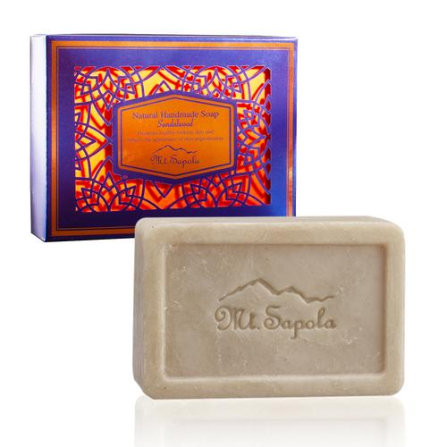 Mt.Sapola Soap Sandalwood 120g.