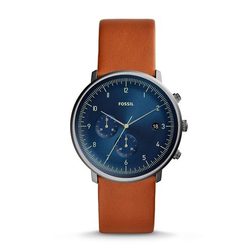 FOSSIL Chronograph 42mm Blue Dial