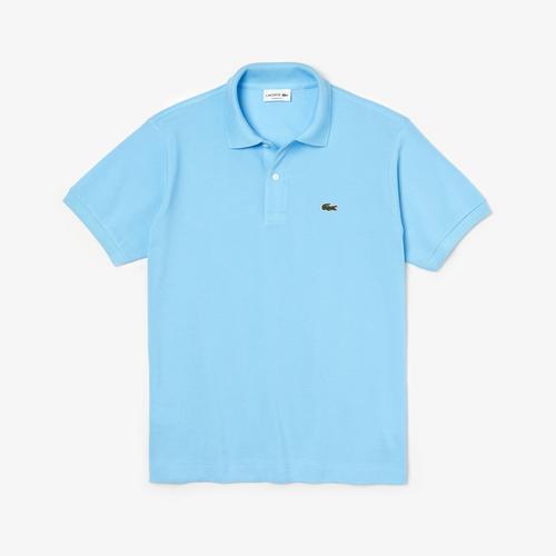 Lacoste Classic Fit L.12.12 Polo Shirt (Light Blue) - Size 2