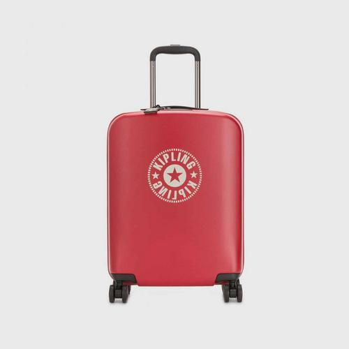 KIPLING Curiosity S Wheeled Luggage - Lively Red