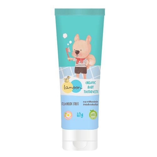 Lamoon Organic Baby Toothpaste 40 g.