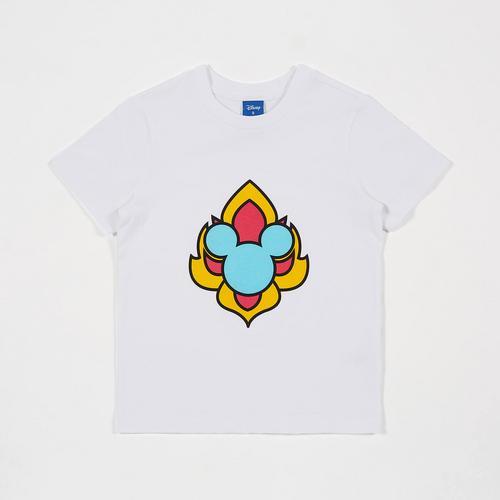 Disney Boy T-Shirt Mickey White-S