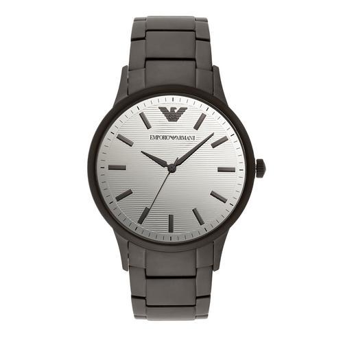 EMPORIO ARMANI Renato Analog Black Stainless Steel Watch